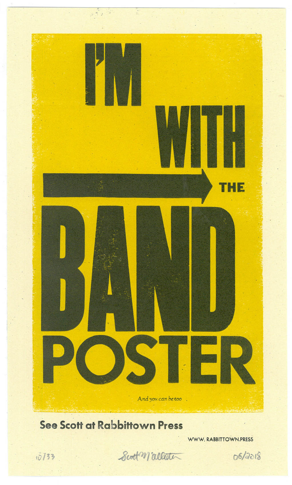 Band and Event Posters